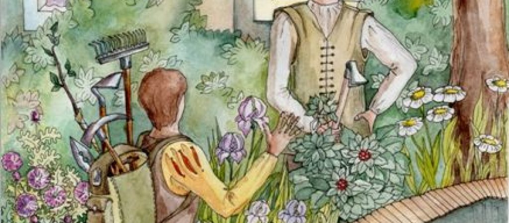 Два взгляда на сады, цветы и другое… Сказка.